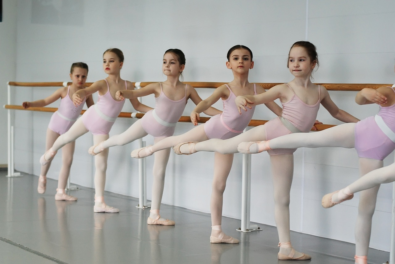 ballet, ballerina, active